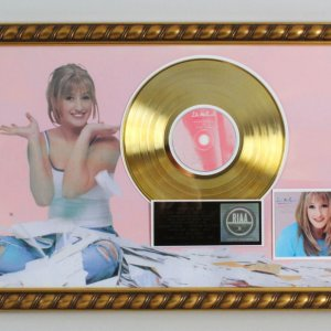 "Lila McCann 1999 Gold Record  ""Something In The Air"" RIAA Award"