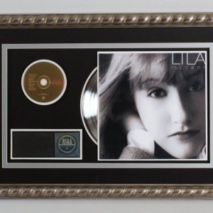 "Lila McCann 1997 Platinum Record Album ""Lila"" RIAA Award"