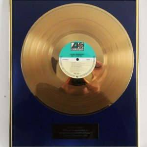 "Laura Branigan 1984 Atlantic Gold Record ""Self Control"""