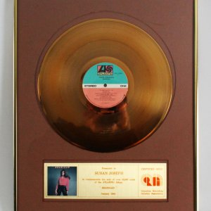 "Laura Branigan 1983 Gold Record for ""Branigan""Album"
