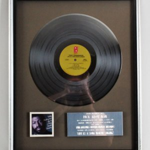 "Teddy Pendergrass Platinum Record Award 1978 ""Life Is A Song Worth Singing"""