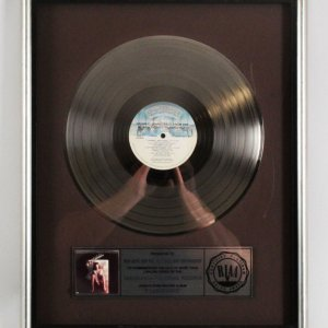 Flashdance Original 1983 Soundtrack Platinum Record Award RIAA
