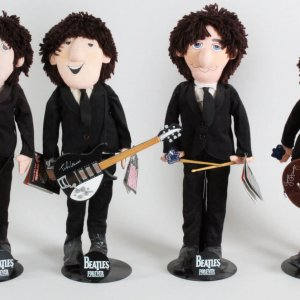 1987 Beatles Forever Apple Corps Limited Dolls