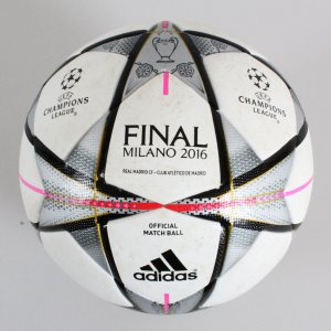 2016 Champions League Final Game-Used Soccer Ball Milano - COA 100% Team