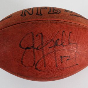 Jim Kelly Signed Football Official NFL Buffalo Bills - COA JSA