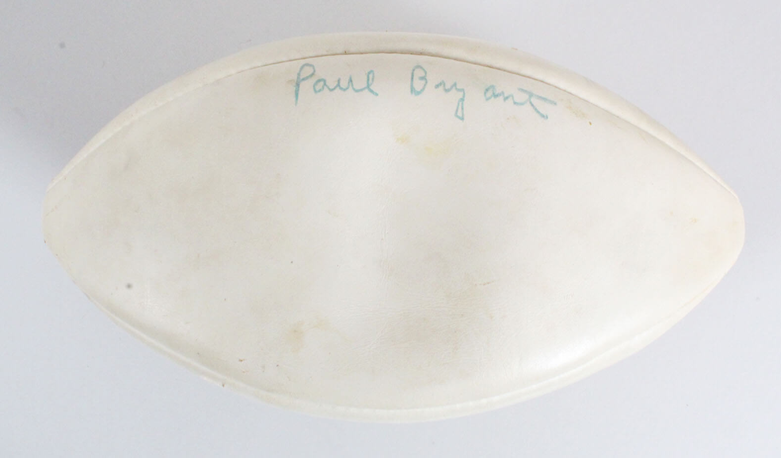 "Paul ""Bear"" Bryant & Ralph ""Shug"" Jordan Signed Football Alabama vs. Auburn Iron Bowl - JSA Full LOA"