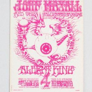 Jimi Hendrix Experience Vintage Ticket 2 (Pink)