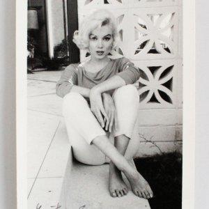 Marilyn Monroe Photo Signed George Barris -5x7- 1962-Cross Leg