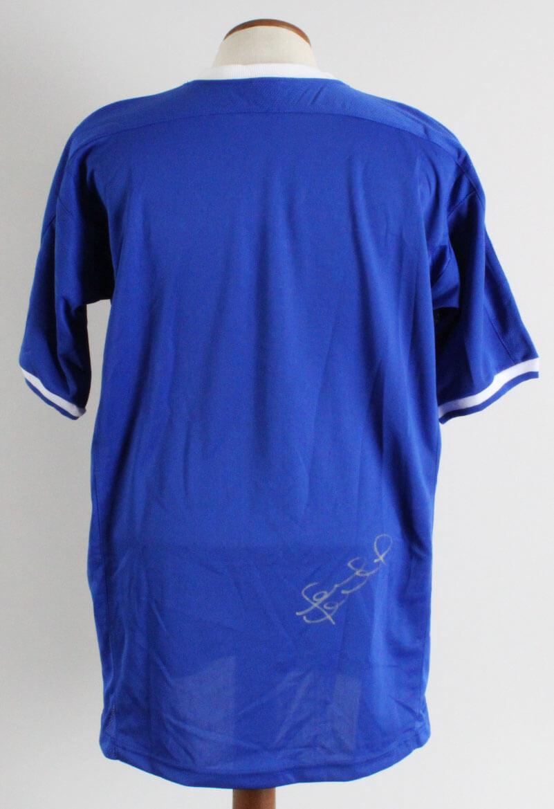 info for 71ed0 2080b Frank Lampard Signed Chelsea F.C. Jersey - COA JSA