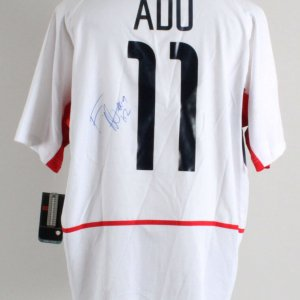 Freddy Adu Signed Team USA Jersey - COA JSA