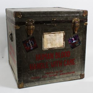 Alice Cooper Decorated Blood Transfer Trunk Box