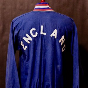 A Sir Bobby Charlton Game-Used England National Team Squad Jacket.  Circa 1960's/1970's.
