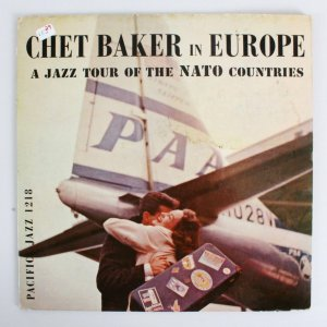 Chet Baker Signed & Inscribed 1958 Album Cover In Europe - JSA Full Letter