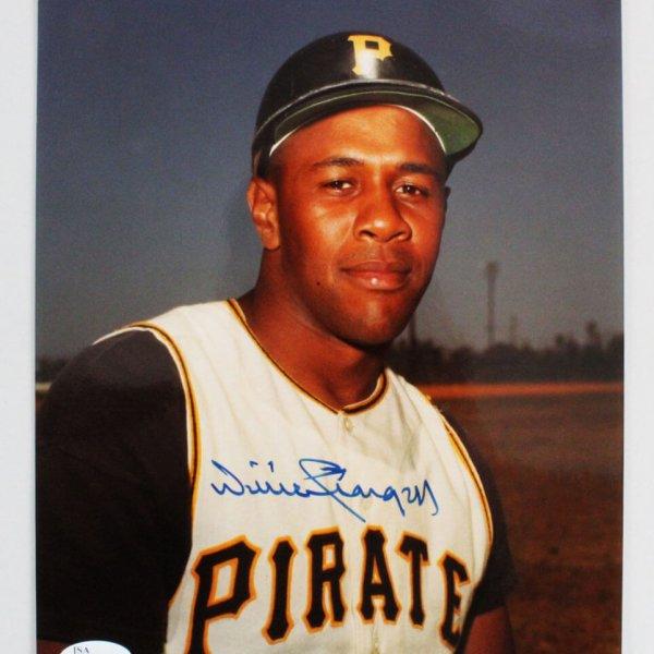 Willie Stargell Signed 8x10 Photo Pittsburgh Pirates - COA JSA