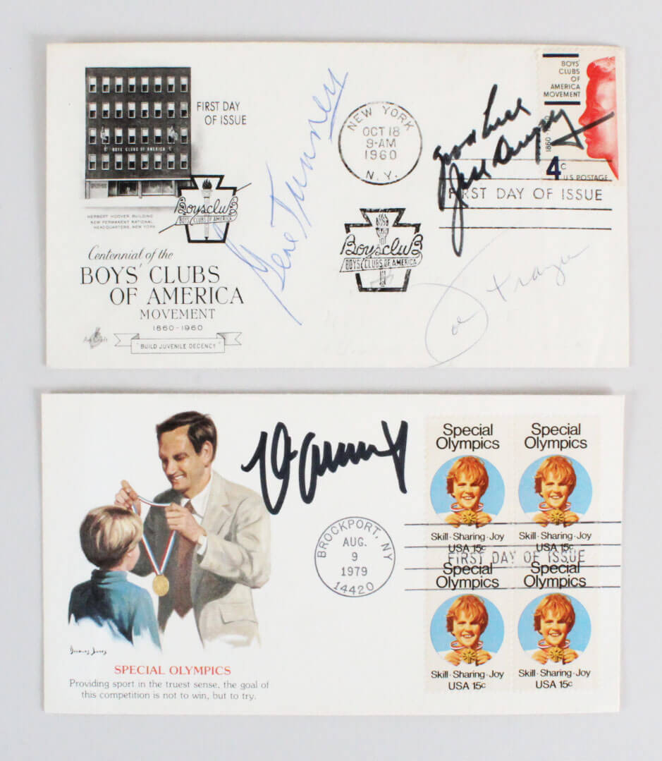 Dempsey, G Tunney &  Schmeling Signed Cachets  FDC