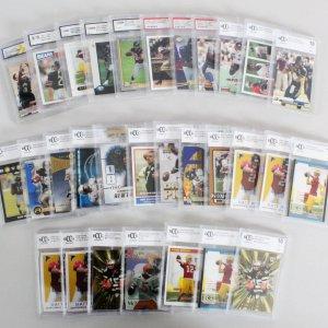 MLB, NFL & NBA Graded Sports Card Lot (30) - Matt Ryan Rookie, Drew Brees RC, Aaron Rogers RC, etc.