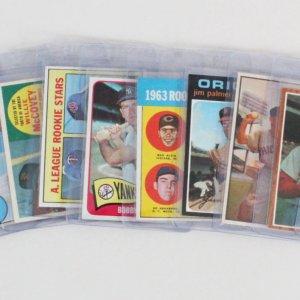 Vintage Baseball Card Lot (12) - 1967 Topps Rod Carew, (2) 1968 Johnny Bench RC, Al Kaline (Signed) etc.