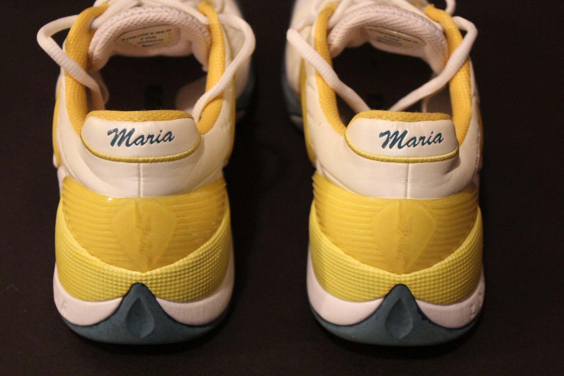 a4f725869ce A Pair of Maria Sharapova s Game-Used Custom Nike Tennis Shoes. 2010  Australian Open.