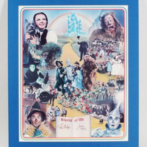 Ray Bolger & Jack Haley Signed The Wizard of Oz Poster
