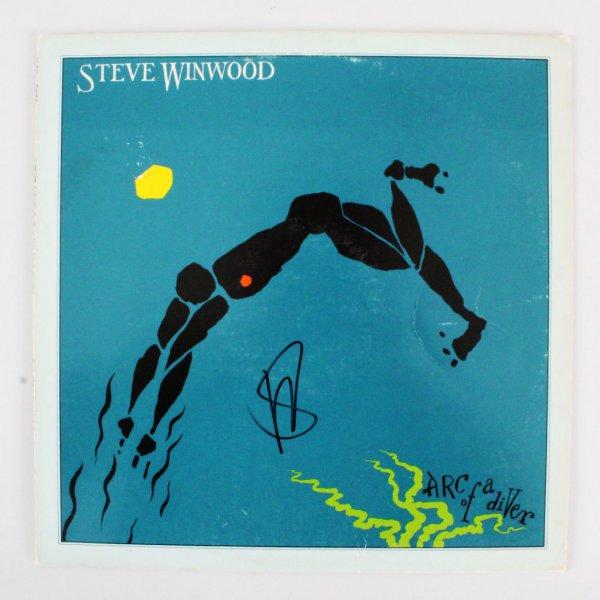 Steve Winwood Signed Album Arc Of A Diver - COA JSA