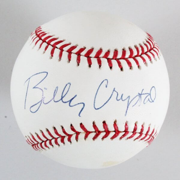 Actor - Sports Fan - Billy Crystal Signed Baseball - COA JSA