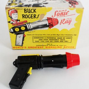 1952 Vintage Buck Rogers Sonic Ray Gun With Original Box
