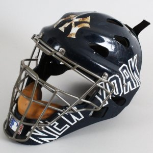 Kelly Stinnett Game-Worn New York Yankees Catcher's Helmet