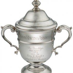 Hall of Famer FOREGO 1974 Brooklyn Handicap Trophy w/COA