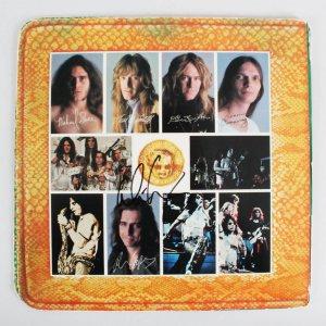 Alice Cooper Signed Record Album - COA JSA