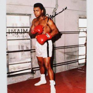 Muhammad Ali Signed 8x10 Photo - JSA Full LOA