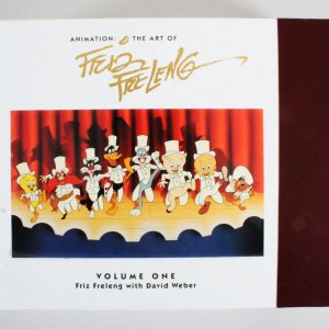 """Animation: The Art of Friz Freleng"" Signed Book 655/4000"