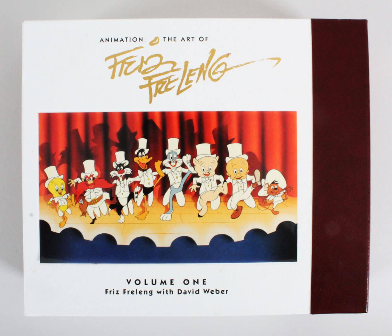 """Animation: The Art of Friz Freleng"" Signed Book 655/4000"