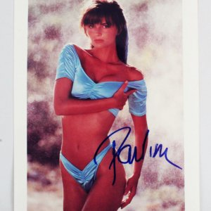 Paulina Porizkova Signed 8x10 Photo - COA JSA