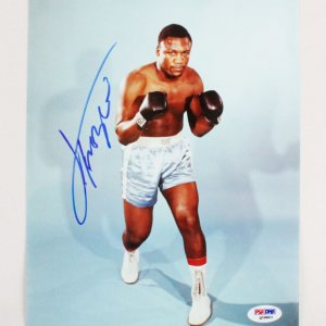 Joe Frazier Signed 8x10 Photo - COA PSA/DNA