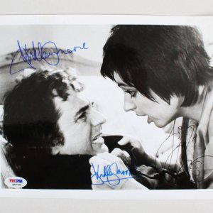 Liza Minnelli & Dudley Moore Signed 8x10 Photo - COA PSA/DNA