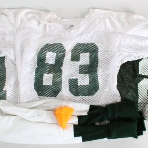 2006 Invincible Screen Used Costume Props Lot of (6) Incl. Practice Jerseys w/ Nicoye Banks (T.J.) (Backlot Props)