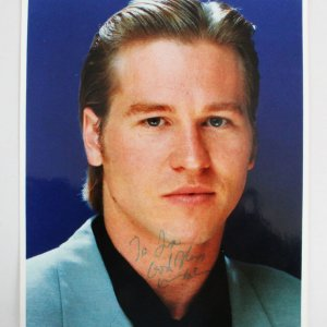 Val Kilmer Signed 8x10 Photo - COA JSA