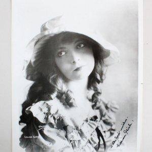 Lillian Gish Signed 8x10 Photo - COA JSA