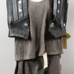 """Demolition Man"" Underworld Armor Costume - Vest, Shirt, Pants & Codpiece (Backlot Props)"