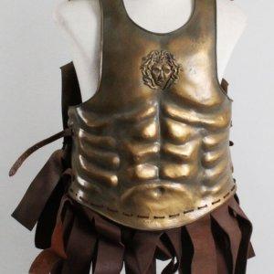 """Alexander"" Chest Armor & Helmet Costume Lot (Backlot Props)"