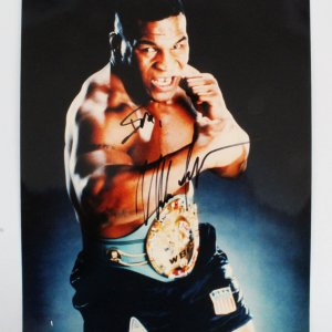 Mike Tyson Signed 11x14 Photo - COA JSA