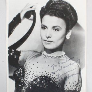 Lena Horne Signed 11x14 Photo - COA JSA