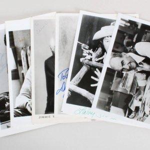 Celebrity Signed Photo Lot (7) Erik Estrada, etc. - COA JSA