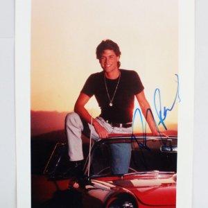 Rob Lowe Signed 8x10 Photo - COA JSA