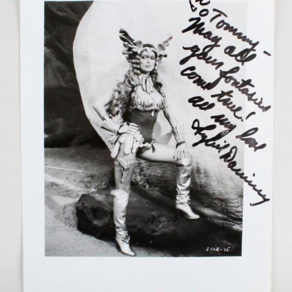 "Sybil Danning Signed ""Battle Beyond the Stars"" 8x10 Photo - COA JSA"