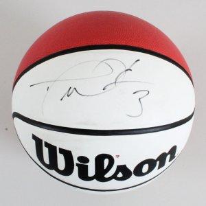 Dwyane Wade Signed Basketball Heat - COA JSA