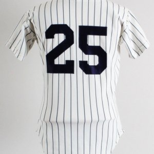 1973-84 Yankees Game Jersey #25 Rawlings