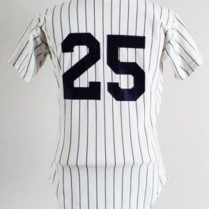 1973-84 Yankees Game Jersey #25 Rawlings
