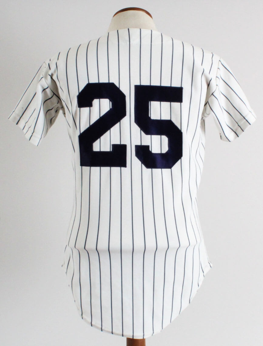 detailing fb1cb 4b30b 1973-84 Yankees Game Jersey #25 Rawlings