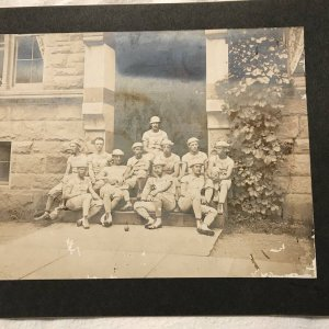 Yale University Baseball Team Photograph 1876